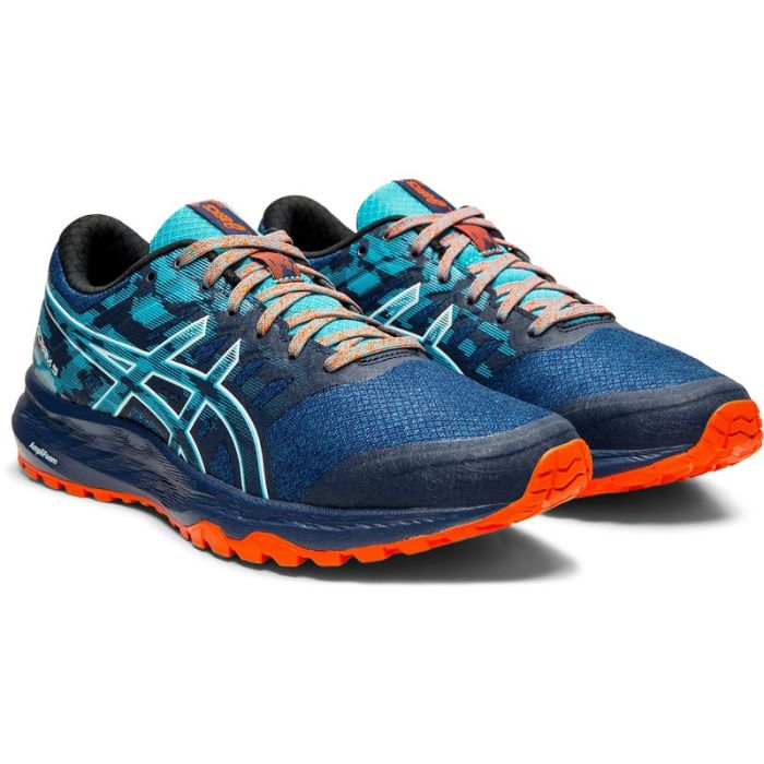 Cita inventar Seguir  Women's ASICS Gel-Scram 5 Trail Running Shoe in Blue Expanse & White